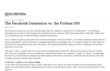 http://blogs.wsj.com/management/2009/03/24/the-facebook-generation-vs-the-fortune-500/tab/print/