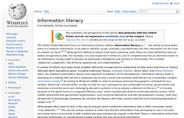 http://en.wikipedia.org/wiki/Information_literacy#Technology