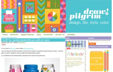 http://www.drawpilgrim.com/2011/01/to-diy-for-twinkle-twinkle-little-jars-with-lori-marie/