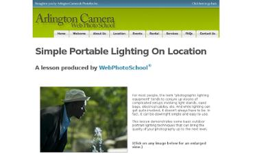 http://arlingtoncamera.webphotoschool.com/Simple_Portable_Lighting_On_Location/index.html