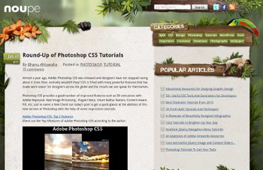 http://www.noupe.com/tutorial/roundup-of-photoshop-cs5-tutorials.html