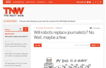 http://thenextweb.com/media/2011/02/09/will-robots-replace-journalists-no-well-maybe-a-few/
