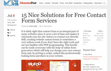 http://blog.templatemonster.com/2010/07/08/free-contact-form-services/