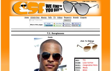 http://www.celebrity-sunglasses-finder.com/T.I.-Sunglasses.html