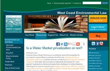 http://wcel.org/resources/environmental-law-alert/water-market-privatization-or-not