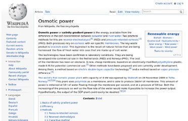 http://en.wikipedia.org/wiki/Osmotic_power