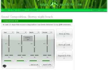 http://naturesoundsfor.me/Stormy_night_beach