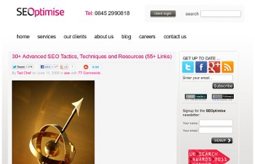 http://www.seoptimise.com/blog/2009/06/30-advanced-seo-tactics-techniques-and-resources-55-links.html