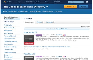 http://extensions.joomla.org/extensions/owner/flashxml