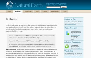 http://www.naturalearthdata.com/features/