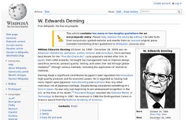 http://en.wikipedia.org/wiki/W._Edwards_Deming#Key_principles