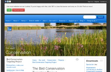 http://www.rspb.org.uk/ourwork/conservation/projects/targeting/index.aspx