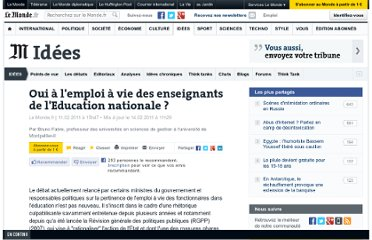 http://www.lemonde.fr/idees/article/2011/02/11/oui-a-l-emploi-a-vie-des-enseignants-de-l-education-nationale_1478841_3232.html