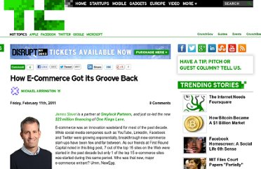 http://techcrunch.com/2011/02/11/how-e-commerce-got-its-groove-back/