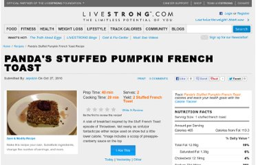 http://www.livestrong.com/recipes/pandas-stuffed-pumpkin-french-toast/