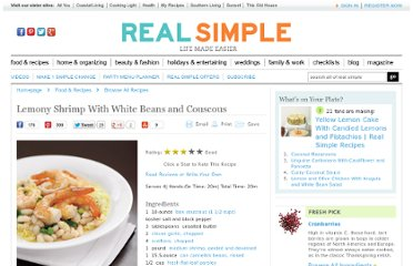 http://www.realsimple.com/food-recipes/browse-all-recipes/lemony-shrimp-white-beans-couscous-00000000008033/index.html