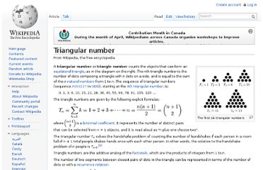 http://en.wikipedia.org/wiki/Triangular_number