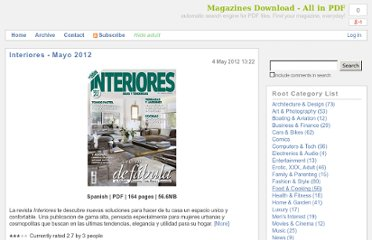 http://magazinesdownload.com/category/Interiores.aspx