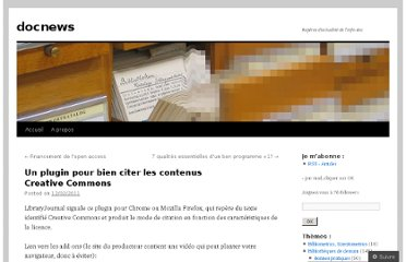 http://docnews.wordpress.com/2011/02/12/un-plugin-pour-bien-citer-les-contenus-creative-commons/
