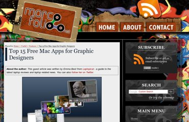 http://www.marcofolio.net/features/top_15_free_mac_apps_for_graphic_designers.html