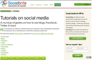 http://www.socialbrite.org/sharing-center/tutorials/#facebook
