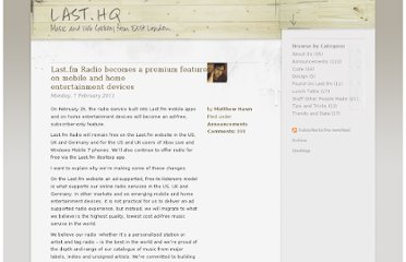 http://blog.last.fm/2011/02/07/lastfm-radio-becomes-a-premium-feature-on-mobile-and-home-entertainment-devices