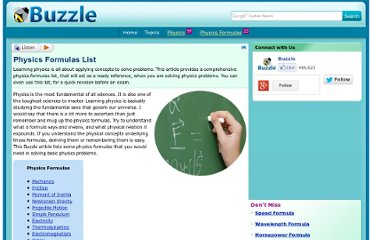 http://www.buzzle.com/articles/physics-formulas-list.html