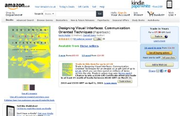 http://www.amazon.co.uk/Designing-Visual-Interfaces-Communication-Techniques/dp/0133033899