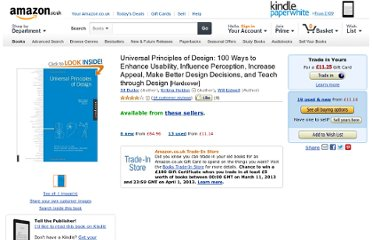 http://www.amazon.co.uk/Universal-Principles-Design-Usability-Perception/dp/1592530079