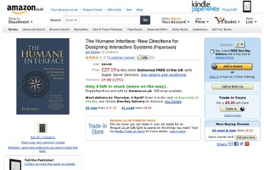 http://www.amazon.co.uk/Humane-Interface-Directions-Designing-Interactive/dp/0201379376