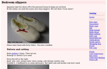 http://sew-ing.com/make/slippers.html
