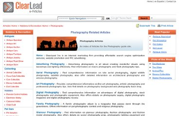 http://www.clearleadinc.com/site/photography-related-artilces.html
