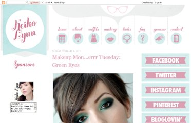 http://www.keikolynn.com/2011/02/makeup-monerrr-tuesday-green-eyes.html