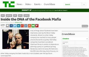 http://techcrunch.com/2011/02/13/inside-the-dna-of-the-facebook-mafia/