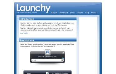 http://www.launchy.net/about.php