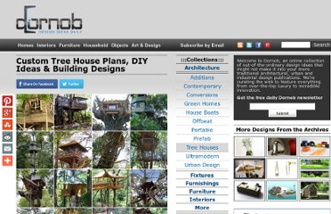 http://dornob.com/custom-tree-house-plans-diy-ideas-building-designs/
