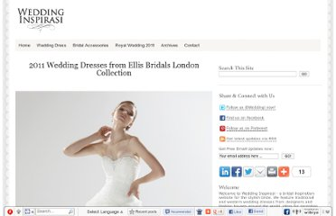 http://www.weddinginspirasi.com/2011/01/18/2011-wedding-dresses-from-ellis-bridals-london-collection/