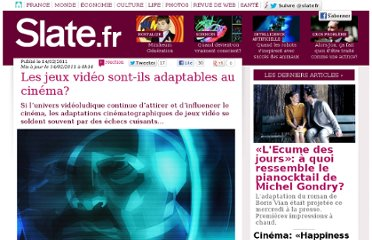 http://www.slate.fr/story/33969/jeux-video-cinema-adaptation-difficile