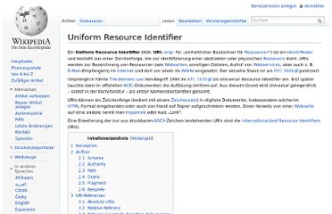 http://de.wikipedia.org/wiki/Uniform_Resource_Identifier