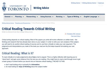 http://www.writing.utoronto.ca/advice/reading-and-researching/critical-reading