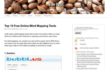 http://freenuts.com/top-10-free-online-mind-mapping-tools/