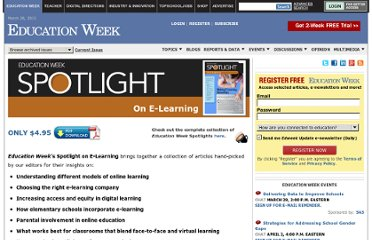 http://www.edweek.org/ew/marketplace/products/spotlight-elearning.html