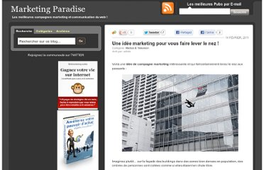 http://marketing-paradise.com/une-idee-marketing-pour-vous-faire-lever-le-nez
