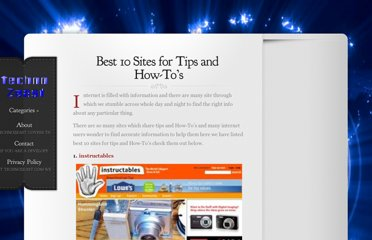 http://www.technozeast.com/best-10-sites-for-tips-and-how-tos.html