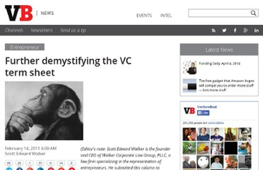 http://venturebeat.com/2011/02/14/further-demystifying-the-vc-term-sheet/
