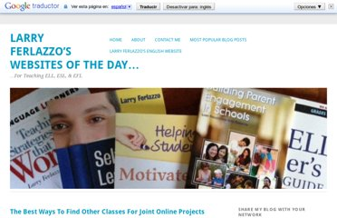 http://larryferlazzo.edublogs.org/2009/05/30/the-best-ways-to-find-other-classes-for-joint-online-projects/