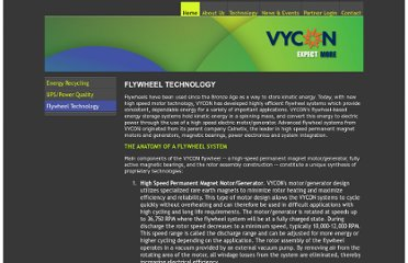 http://www.vyconenergy.com/pages/flywheeltech.htm