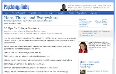 http://www.psychologytoday.com/blog/here-there-and-everywhere/201008/50-tips-college-students