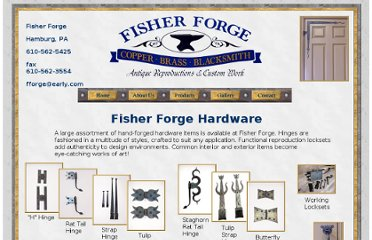 http://www.fisherforge.com/pages/hardware.html