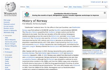 http://en.wikipedia.org/wiki/History_of_Norway